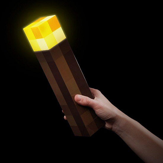 minecraft wall torch inhand Minecraft Light Up Torch will make sure no one can creep up on you