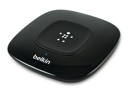 NFC Enabled HD Bluetooth Music Receiver  Pull music out of thin air with the NFC Enabled HD Bluetooth Music Receiver