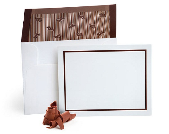 f32e flavored envelopes with notecards Chocolate Flavored Envelopes will encourage you to send snail mail