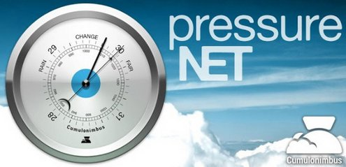 pressurenet Pressure Net   let your phone improve the worlds weather forecasts [Freeware]