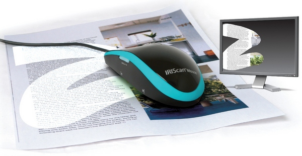 iriscanmouse IRIScan Mouse   you swipe, it scans