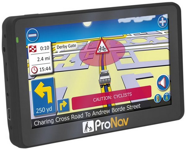 pronav420 Navevo ProNav 420   the worlds first cyclist friendly truck GPS system