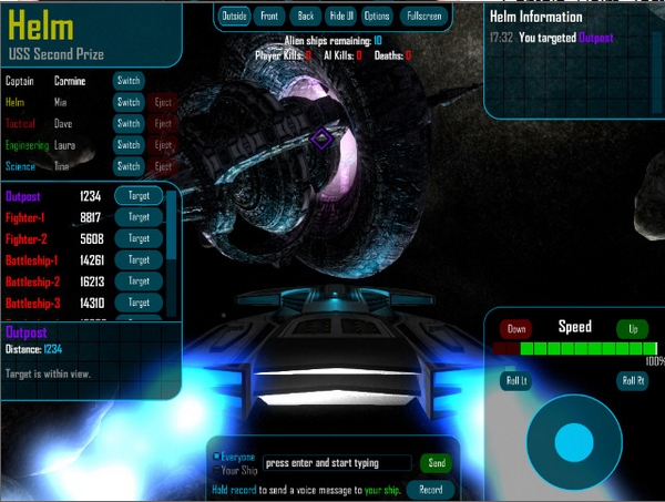 quintet3 Quintet   boldly fly your starship through the galaxy with your friends [Freeware]