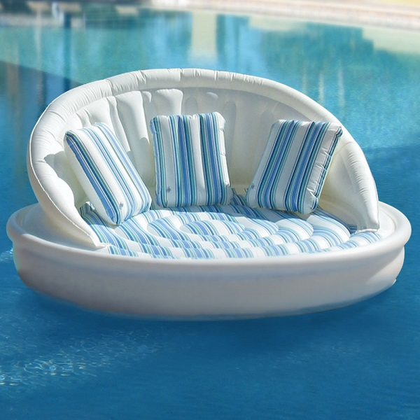 Floating Sofa The Floating Sofa – bring the comfort of home on vacation