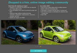 Zhopped – this free crowdsourced image editing service rocks. Uh…did we mention it's free…?
