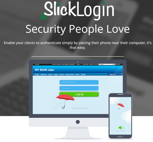 slicklogin SlickLogin   turn your smartphone into your computer password