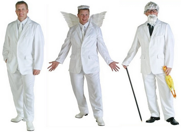 whitesuitcostume White Suit Costume   versatile, useful and oh so heavenly
