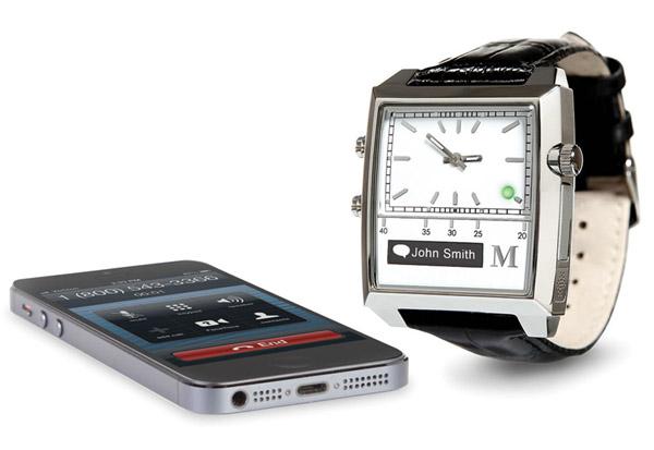 Voice Command Smartphone Watch Voice Command Smartphone Watch   This retro looking watch hides a lot of secrets