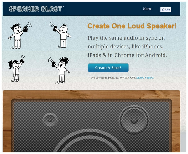 speakerblast Speaker Blast   innovative speaker sync could be a real blessing for flash mobs and drive ins