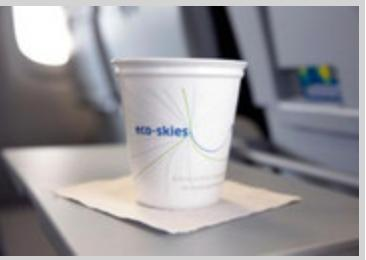 microgreensincyclerecyclablecups United Airlines to offer recyclable insulated coffee cups