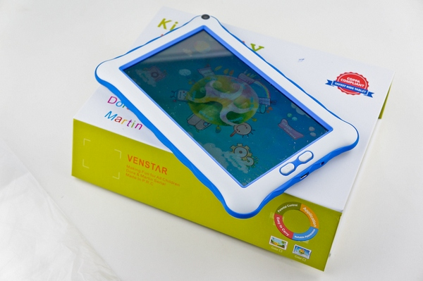 dsc04474 Venstar Childproof Android 7 Inch Tablet   cute $59 password protected tablet for the kids [Review]