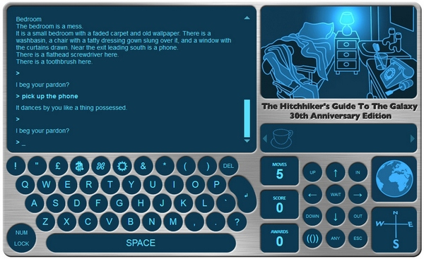 hitchhikersguidegame2 Hitchhikers Guide To The Galaxy Game   30th anniversary edition now available for free