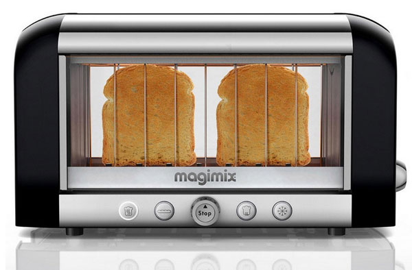 magimixseethroughtoaster Magimix Vision Toaster   perfectly judged brown every time, right?