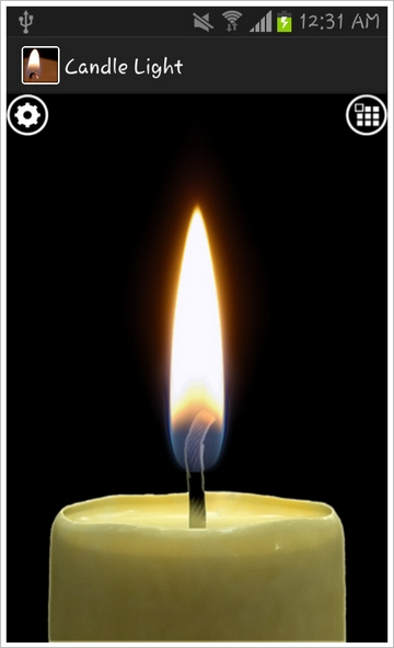 realcandle Real Candle   impress (some) folk with the flame in a phone [Freeware]