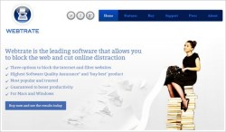 Webtrate – fed up with wasting time on the web? This will definitely cure the problem