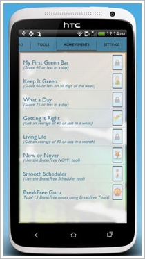 breakfreeapp4 BreakFree Cell Phone Addiction   fight your phone addiction and control your kids use too [Freeware]