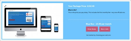 picknmix3 Pick n Mix   superb new website building service is perfect for small businesses and mom and pop