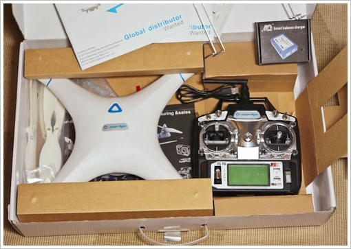 seraphipquadcopter 2 Seraphi Quadcopter   Phantom clone offers 28 mins of flying time per charge