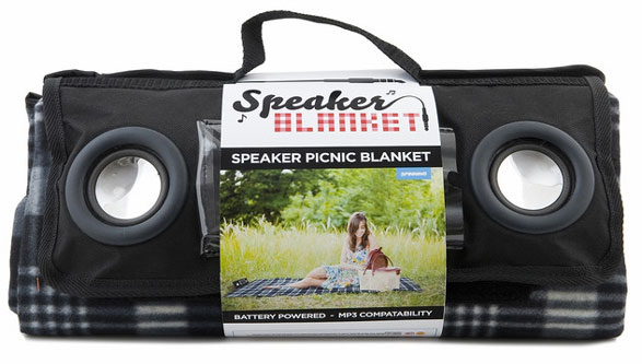 speakerpicnicblanket Speaker Picnic Blanket   ahh the sweet sweet sounds of the countryside