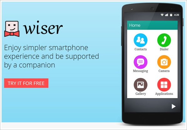 wiser8 Wiser   the perfect alternative to complex smartphone screens [Freeware]