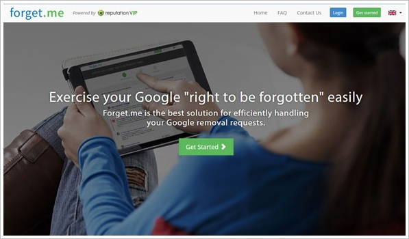 forgetme Forget.me   new service offers to remove you from Google search results