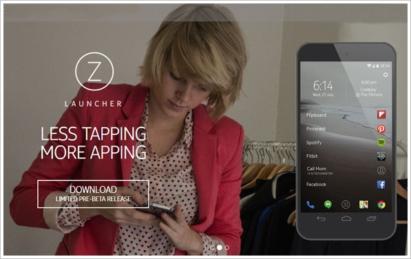 zlauncher Z Launcher   is Nokia about to make a comeback via this cool Android software? [Freeware]
