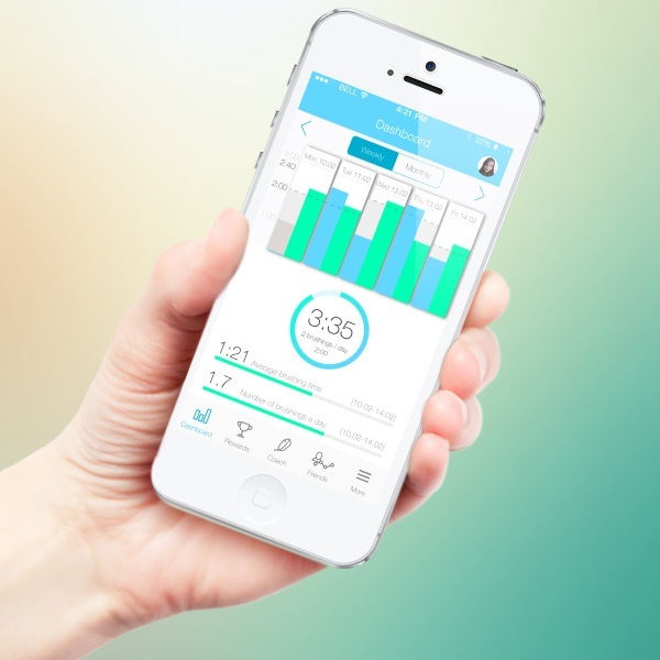 Kolibree app Kolibree Toothbrush – throw a high tech dashboard at your cavities, and smile