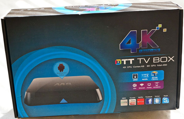 ottm8androidtvbox 1 M8 4K TV Box   stylish, powerful Android TV box delivers 4K ultra high resolution Internet, games and more to your television [Review]