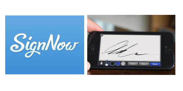 signnow featured SignNow   sign documents on your phone with your finger, no pen needed [Freeware]
