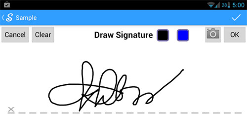 signnow sign SignNow   sign documents on your phone with your finger, no pen needed [Freeware]