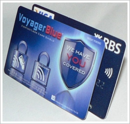 voyagerblue Voyager Blue   protect your credit cards from ID scammers