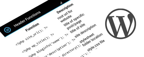 WordPress CheatSheet – learn how to start coding with the WordPress system [Freeware]