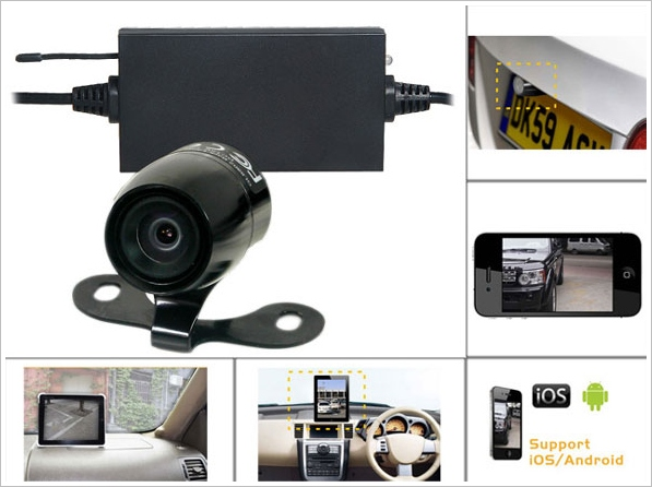 carparkingcameraforsmartphones Car Parking Camera for Smartphones   your Android or iPhone device can now work as a wireless car parking camera
