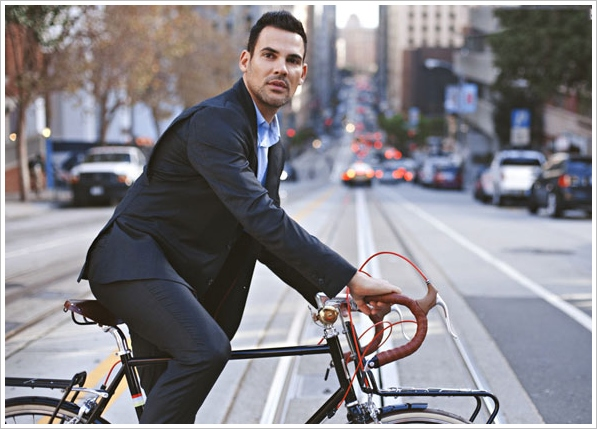 slideshow 2 Commuter Suit   the perfect commuter gear for the upwardly mobile cyclist