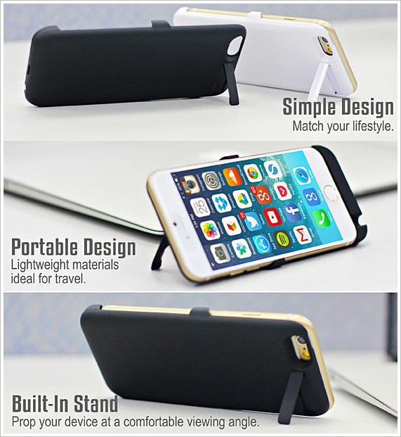 powerjacketforiphone6b Power Jacket for iPhone 6   a 3000mAh battery pack for the phone that doesnt even exist yet