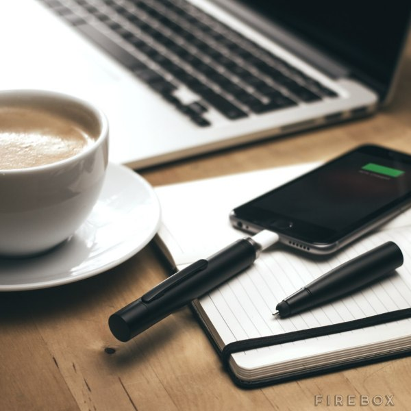 Power Pen – because the pen will always be mightier than a sword….or a portable charger