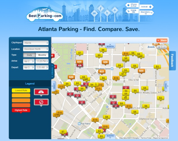 Best Parking – the app that helps you find the best parking space [FREEWARE]