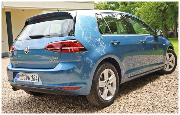 2015 VW Golf TSI Bluemotion – 3 cylinder, 76.5 mpg, 127 mph, petrol wizard [Review]