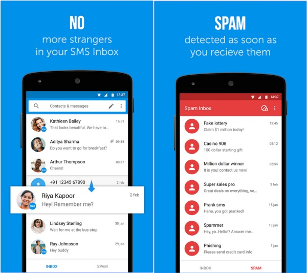 Truemessenger – stop text spam with this app [FREEWARE]