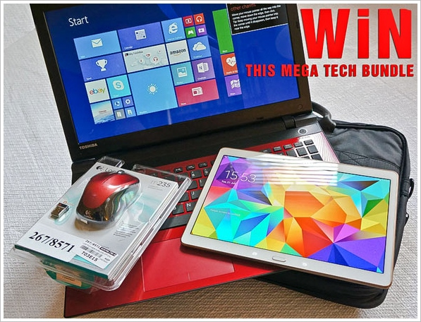 Red Ferret Mega Summer Giveaway – win this amazing Samsung/Toshiba tech bundle [UK Giveaway]