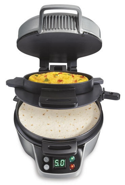 Breakfast Burrito Maker – skip the fast food and get a delicious handheld at home