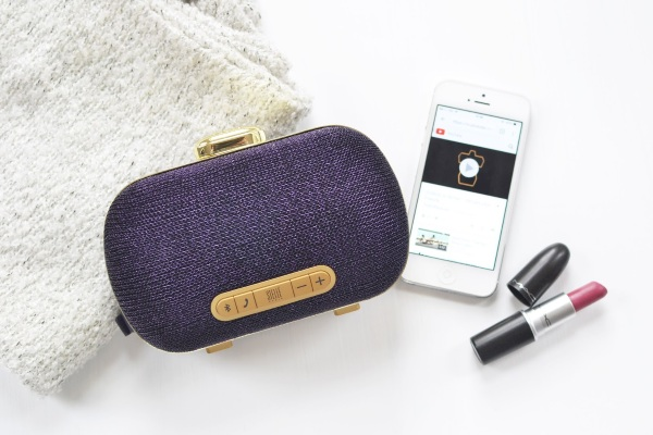 Mini-Clutch Speaker – small bag, big sound