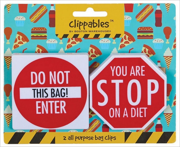 Diet Buddy Chip Clips – stop signs for your crunchy cravings