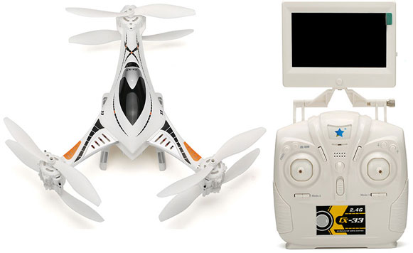 Cheerson CX-33 Sexcopter – fun mini drone, 25 mins fly time, and 720p camera [Review]