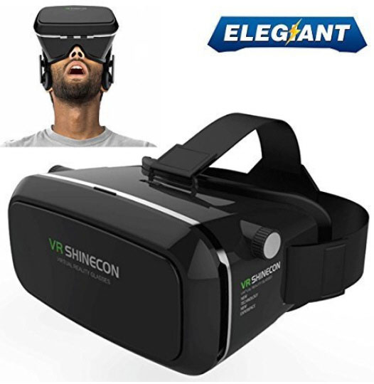Shinecon VR Glasses – turn your iPhone, Android or Windows phone into a 3D viewer and game console [Review]