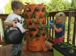 gardenower 2 kids Garden Tower 2   grow healthy food in a small space with ease