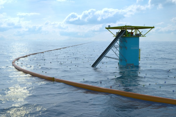 The Ocean Cleanup – the set it and forget it way to clean up the Earth's oceans