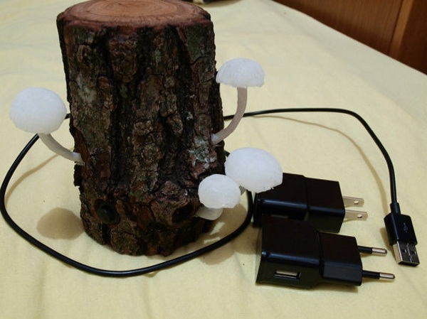 "Mushroom Lamp – get more ""natural"" lighting"