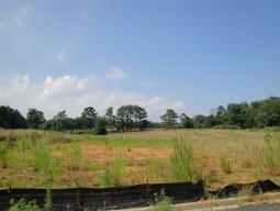 new high school construction site in Milton GA