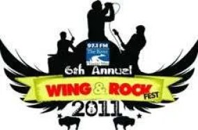 logo for Woodstock GA Wing and Rock Fest